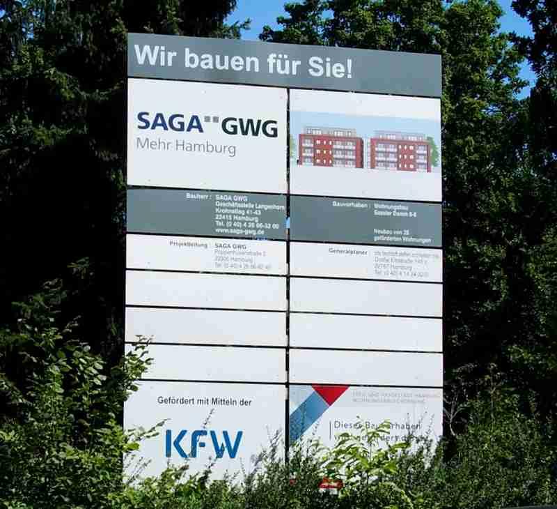 Die SAGA GWG baut