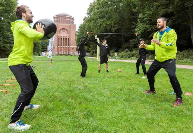 Urban Training Day im Stadtpark