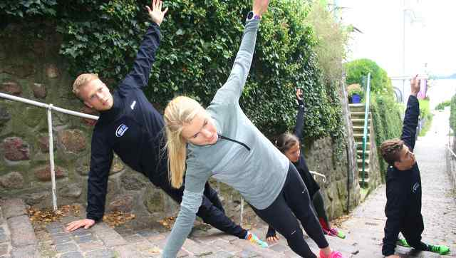 Urban Training Day im Treppenviertel Blankenese