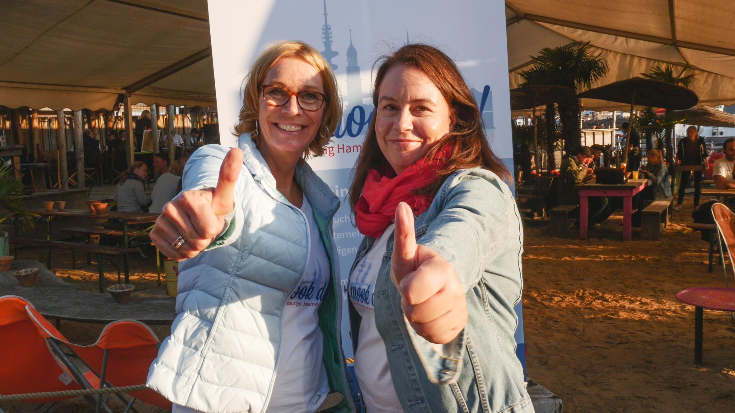 Wi mook dat Initiarorinnen Claudia Seehusen udn Anja Engelke