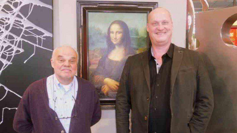Die Mona Lisa in Hamburg