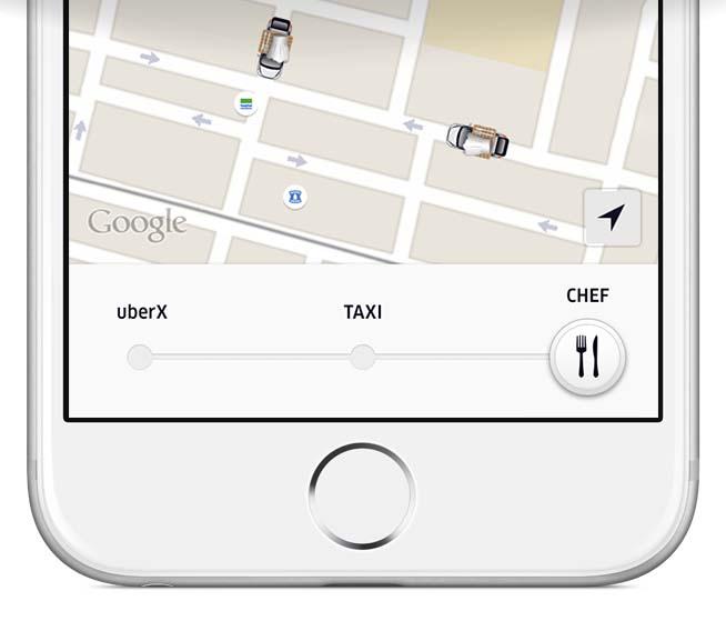 Uber - Chef on Demand