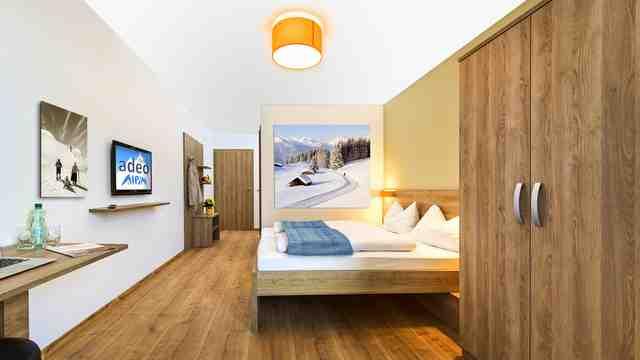 adeo ALPIN Hotel Zimmer