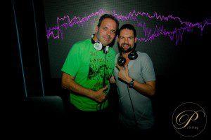 DJ Columbus (Martin Richard Kristek) und DJ Kai Schwarz (c) Privileg Hamburg