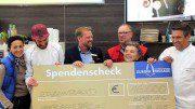 Europa Passage VIP Cooking Spendenscheck