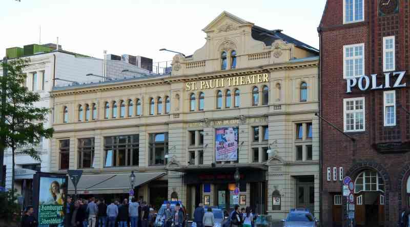 Das St. Pauli Theater Hamburg Reeperbahn