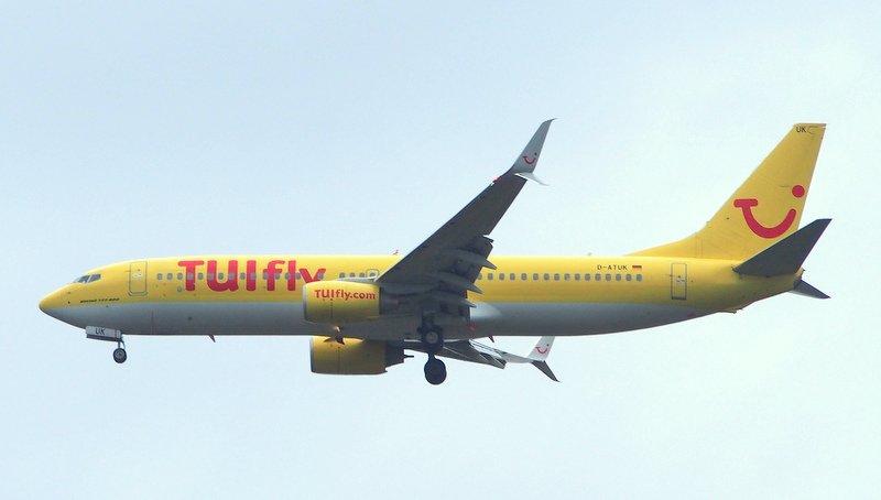TUI FLY im Landeanflug