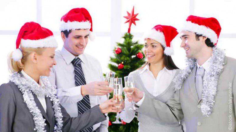 Weihnachtsfeier im Unternehmen