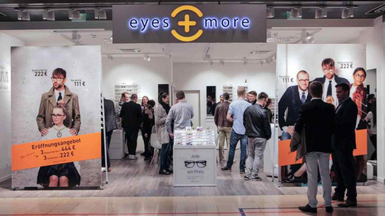 eyes + more Store Eröffnung Hamburg