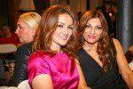 Boxerin Ina Menzer mit Freundin in Ella Deck Couture (c) Andreas Bonné