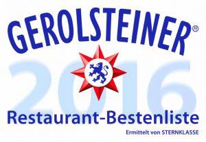Gerolsteiner Restaurant Bestenliste