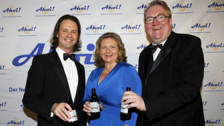 Black Tie und ASTRA Knolle beim AHOI 2016