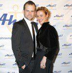 Schauspielerin Rhea Harder mit ihrem Mann Jörg Vennewald