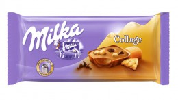 Milka Collage Karamell