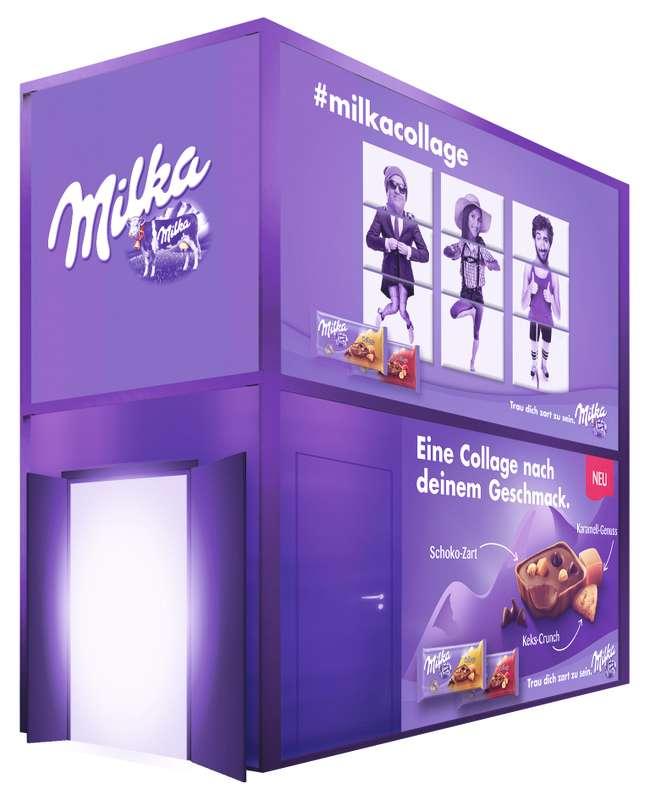 Die Milka Collage Fun Box