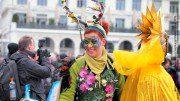 Hamburger Maskenzauber auf dem Rathausmarkt