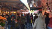 Auf dem Volksdorfer Wochenmarkt