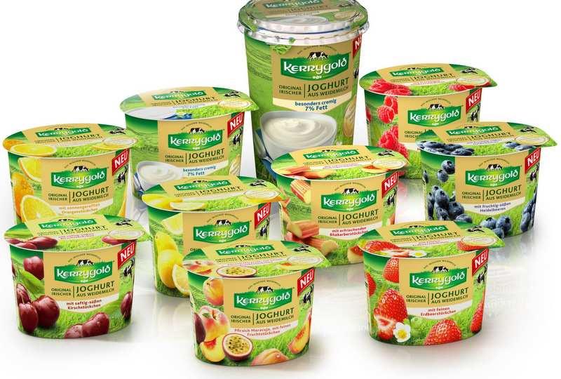 das Kerrygold Joghurt Sortiment