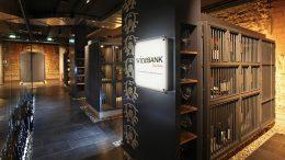 Weintresore der wineBANK Hamburg