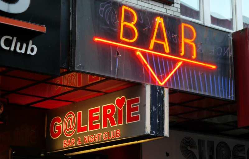 Bar Werbung St. Pauli