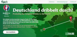 Carlsberg Dribbelstrecke