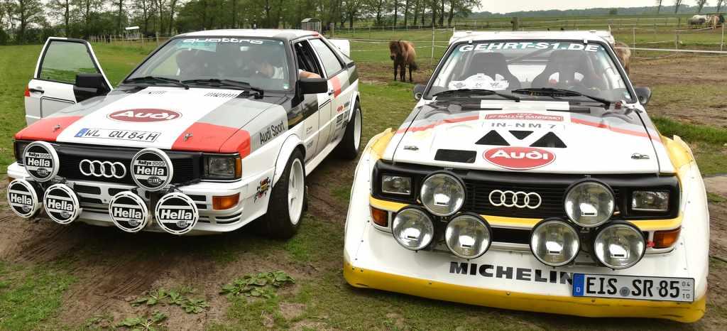 Audis Rallye Legenden