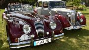 Britisches Duett Jaguar und MG