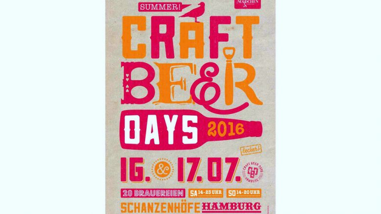 Craft Beer Days Hamburg 2016