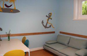 Der Relaxraum im Ankerland