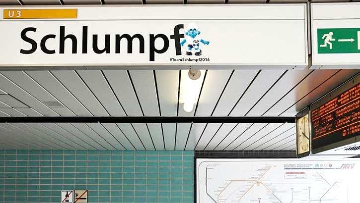 U-Bahnstation Schlumpf