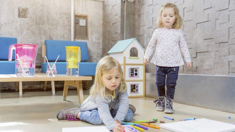 Trinkbesserwasser Studie von BWT für Kindergärten