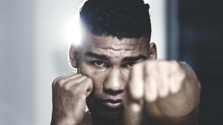 Boxer beim Training