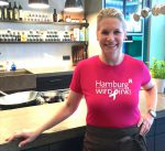 Hamburg wird pink Wein