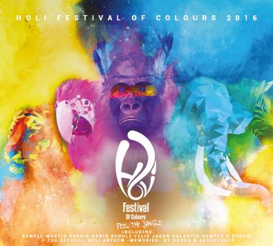 Holi Festival Of Colours 2016
