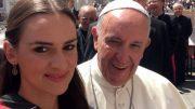 Lena Böder mit dem Pabst
