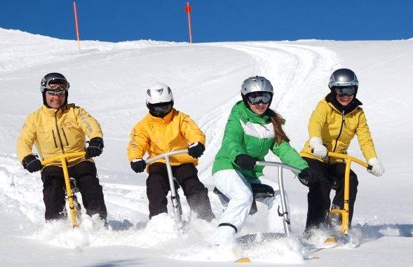 Family Snowbiken