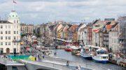 Kopenhagen der Neue Hafen