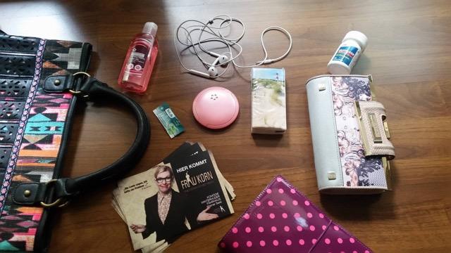 Handtaschen Inhalt Janina Korn