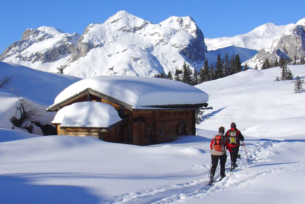 Winterwandern im Lammertal