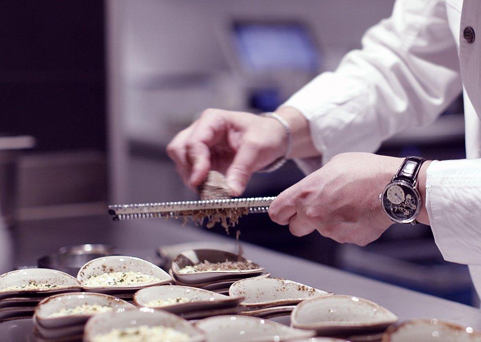 Ein Jahr The Table - Dinner mit Perrier-Jouët