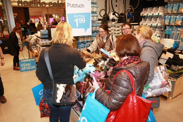 Clas Ohlson Opening AEZ