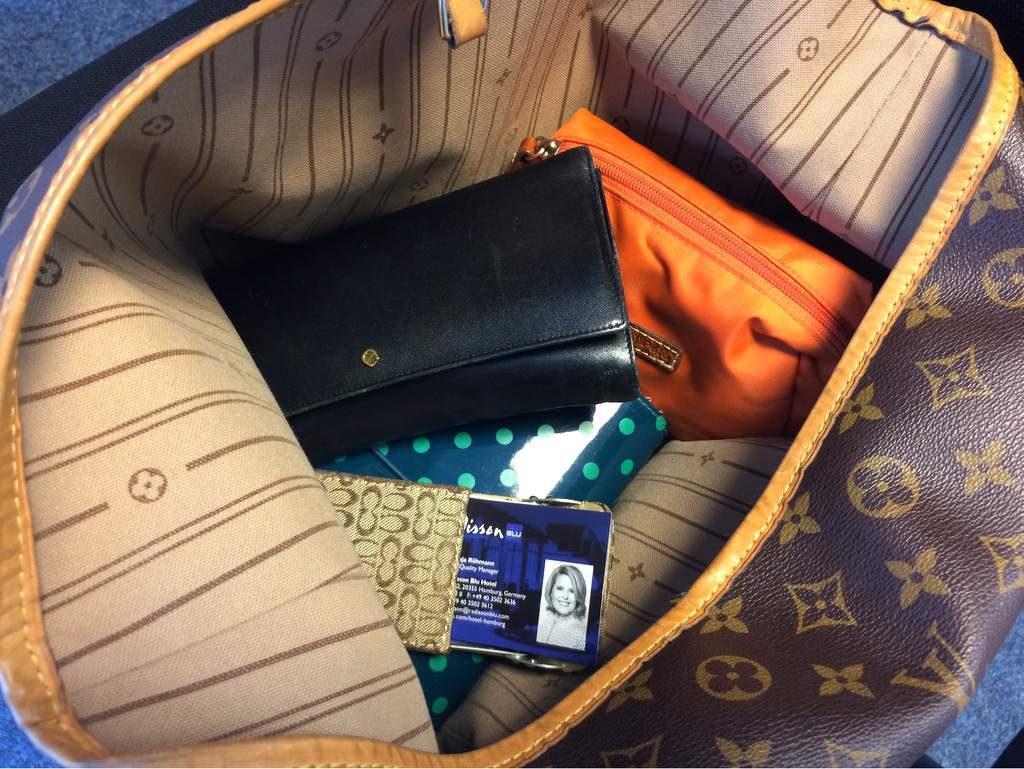 Der Handtascheninhalt von Tanja Rühmann