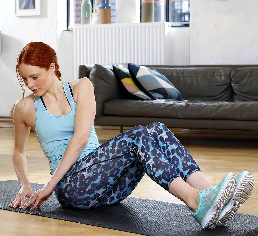Fitness mit Barbara Meier