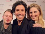 Selfie-Time: Tim Petersen (Lauth Communicates GmbH), Boris Entrup & Christine Deck (Beauty-Expertin) (c) privat