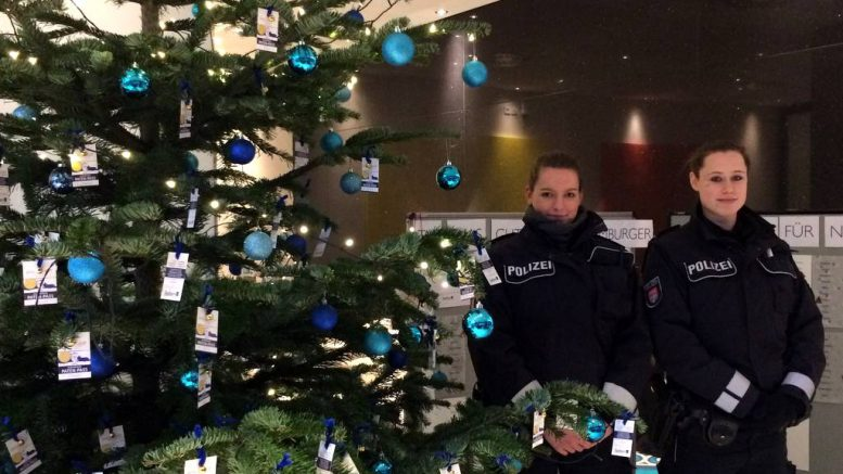 WISH TREE - Hamburgs sicherster Weihnachtsbaum
