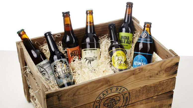 Craft Beer Tasting Box