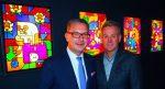 Künstler-Duo Doppeldenk zu Gast in der Galerie Affenfaust