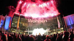 Feuerwerk über dodenhof Kaltenkirchen beim Moonlight Shopping