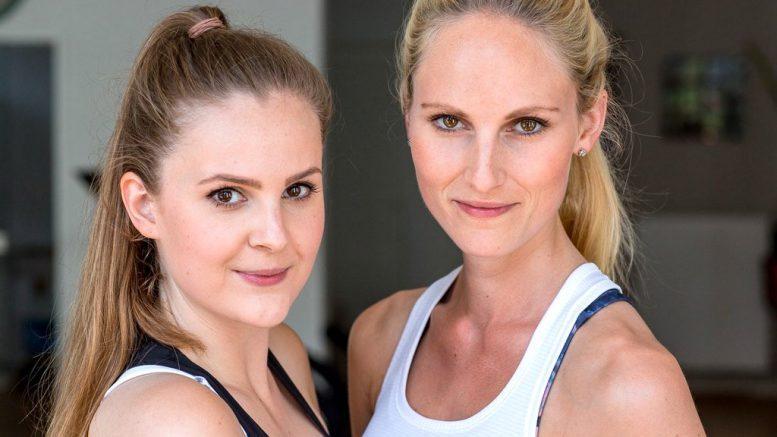 Die Fitness-Schwestern Linda und Kaya Stork