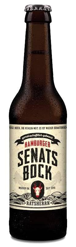 Hamburger Senatsbock Flasche
